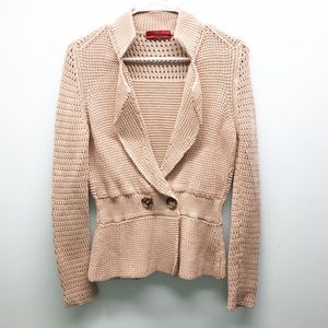 Carolina Herrera fitted knit jacket blazer
